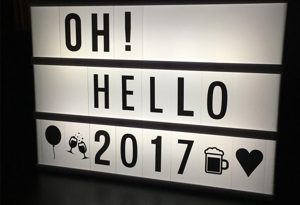 Oh hello 2017